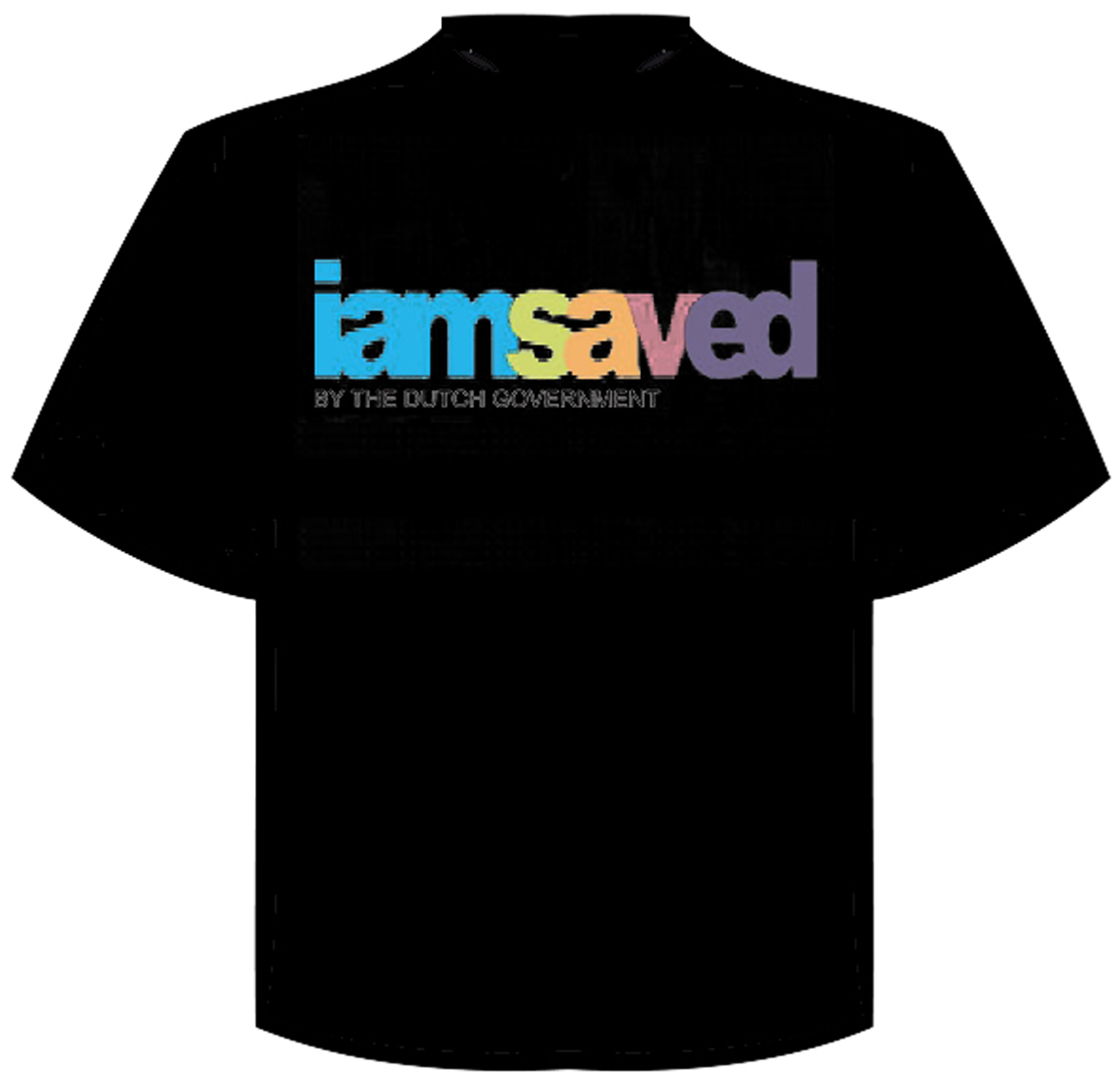 "T-Shirt ""i am saved"""